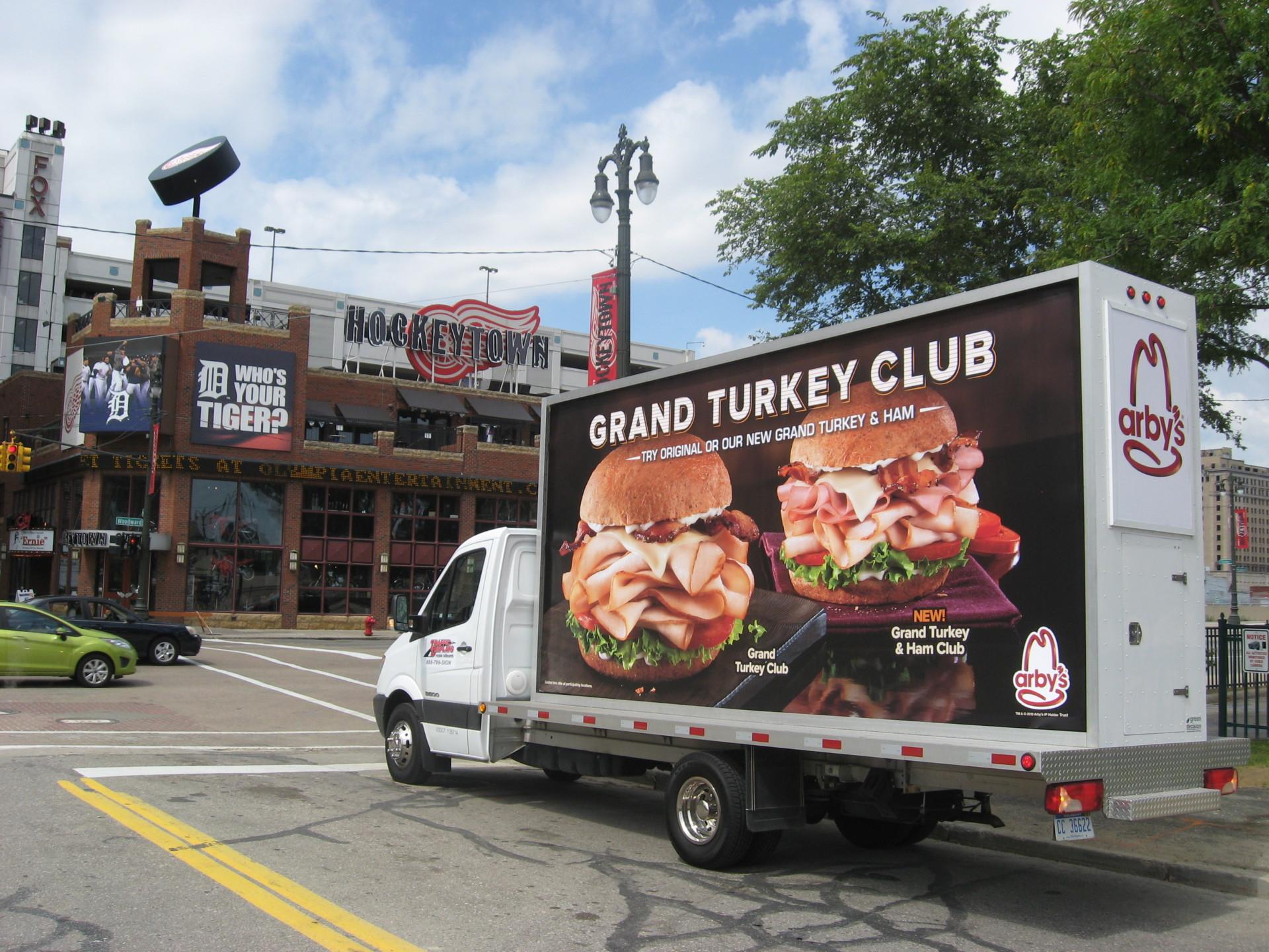 Mobile Billboards Detroit