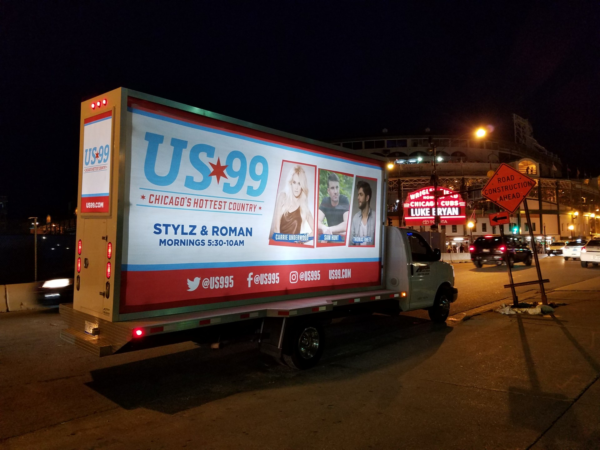 Mobile Billboard Truck Chicago