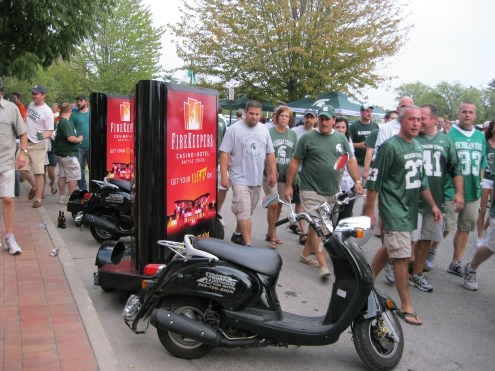 Advertising_Scooters_East_Lansing