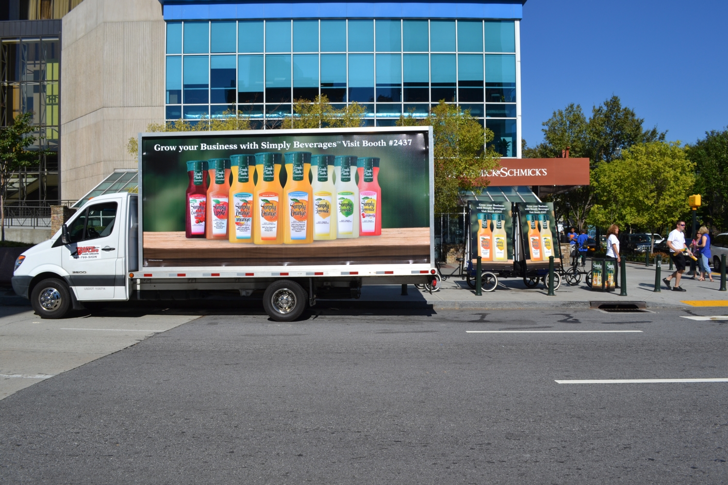 Mobile Billboard Truck Atlanta
