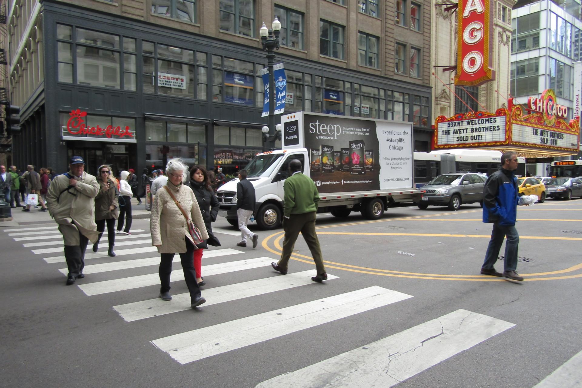 Chicago Mobile Billboard Truck