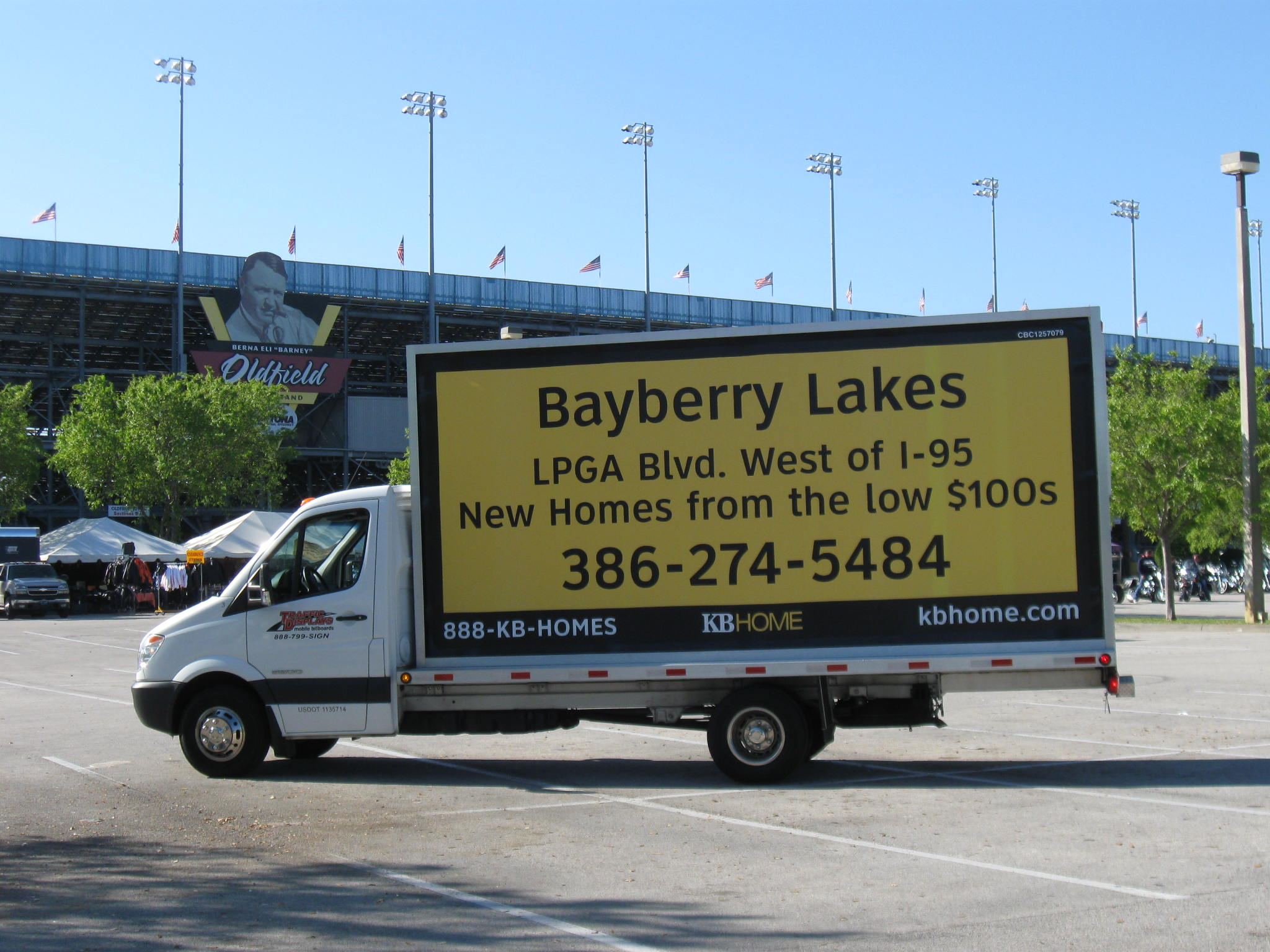 Daytona Mobile Billboard Truck
