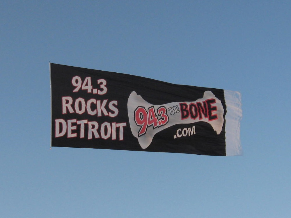Aerial Advertising in Detroit