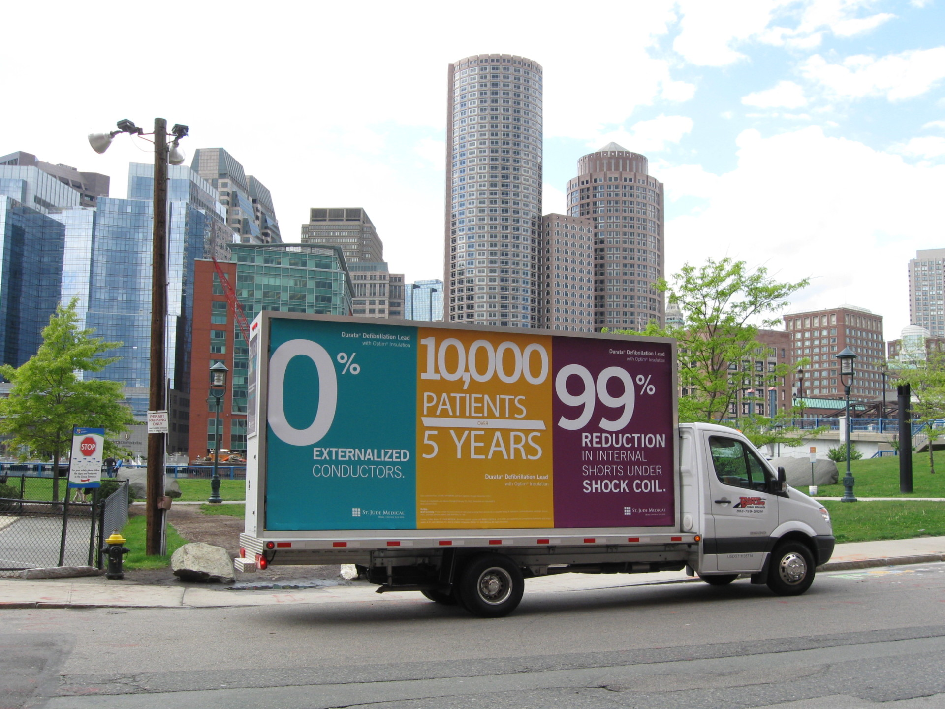 Boston Mobile Billboard Advertising Truck