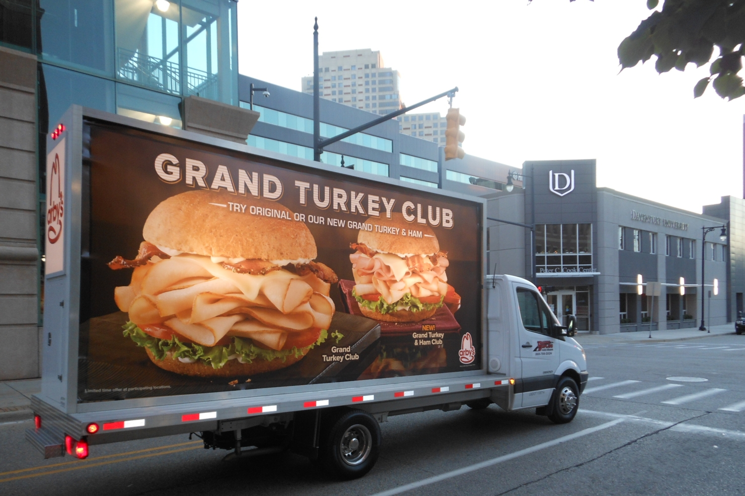 Grand Rapids Mobile Billboard Truck