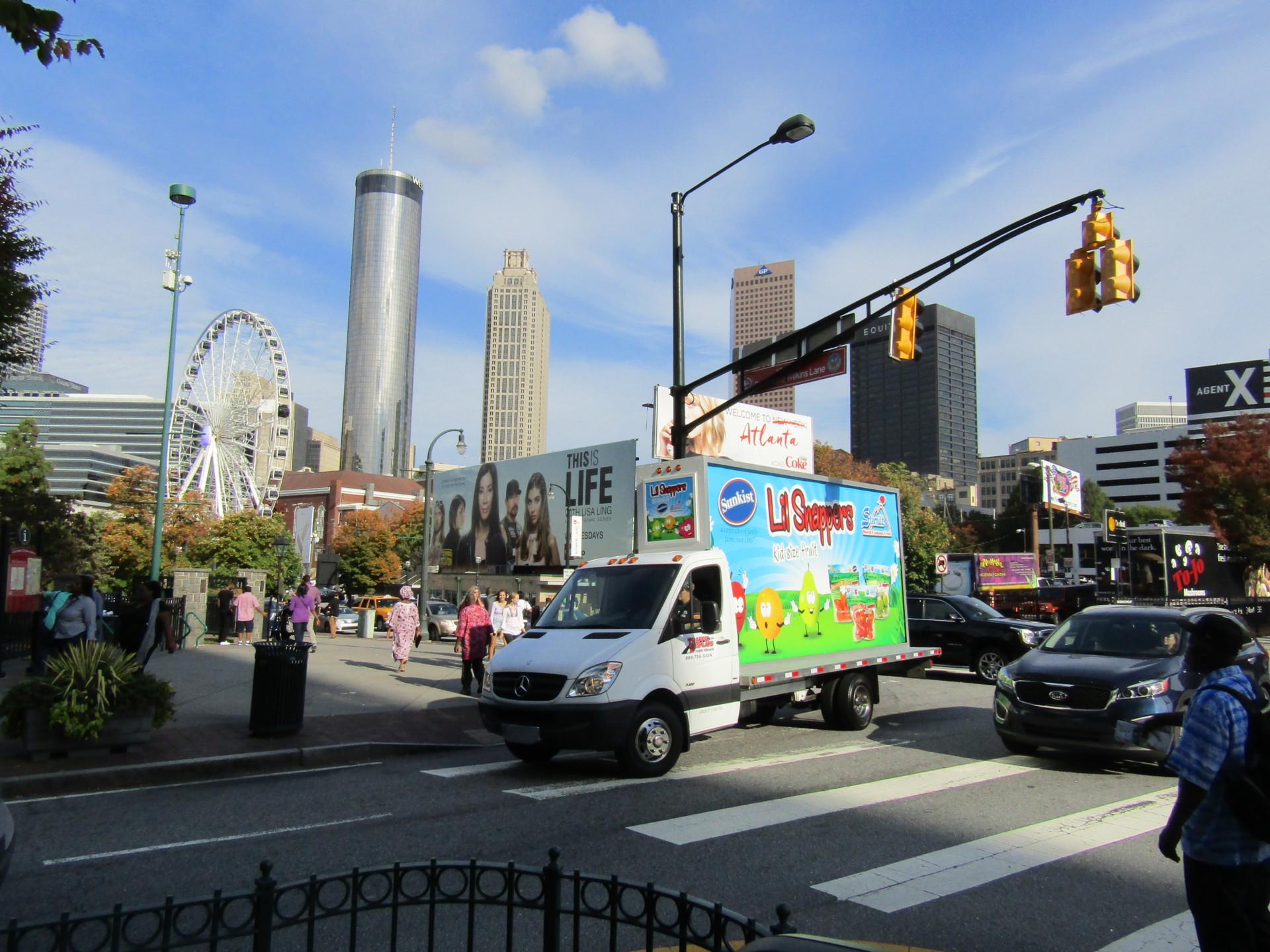 Mobile Billboard Truck Atlanta GA