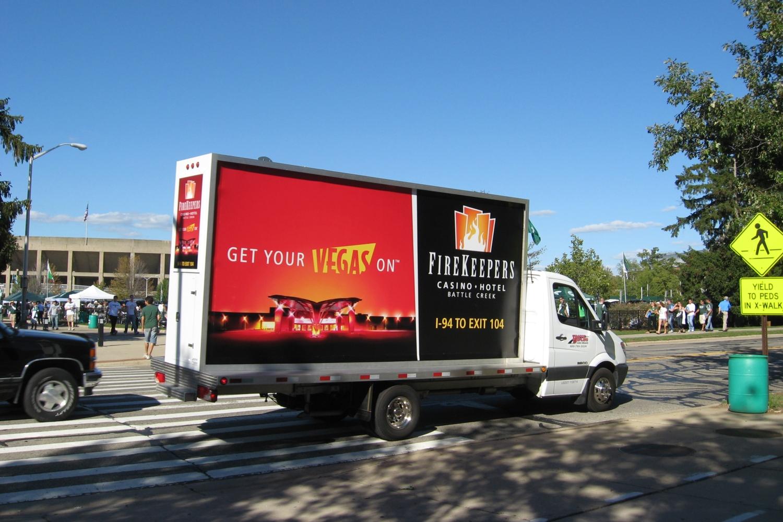 Mobile Billboard Lansing Michigan