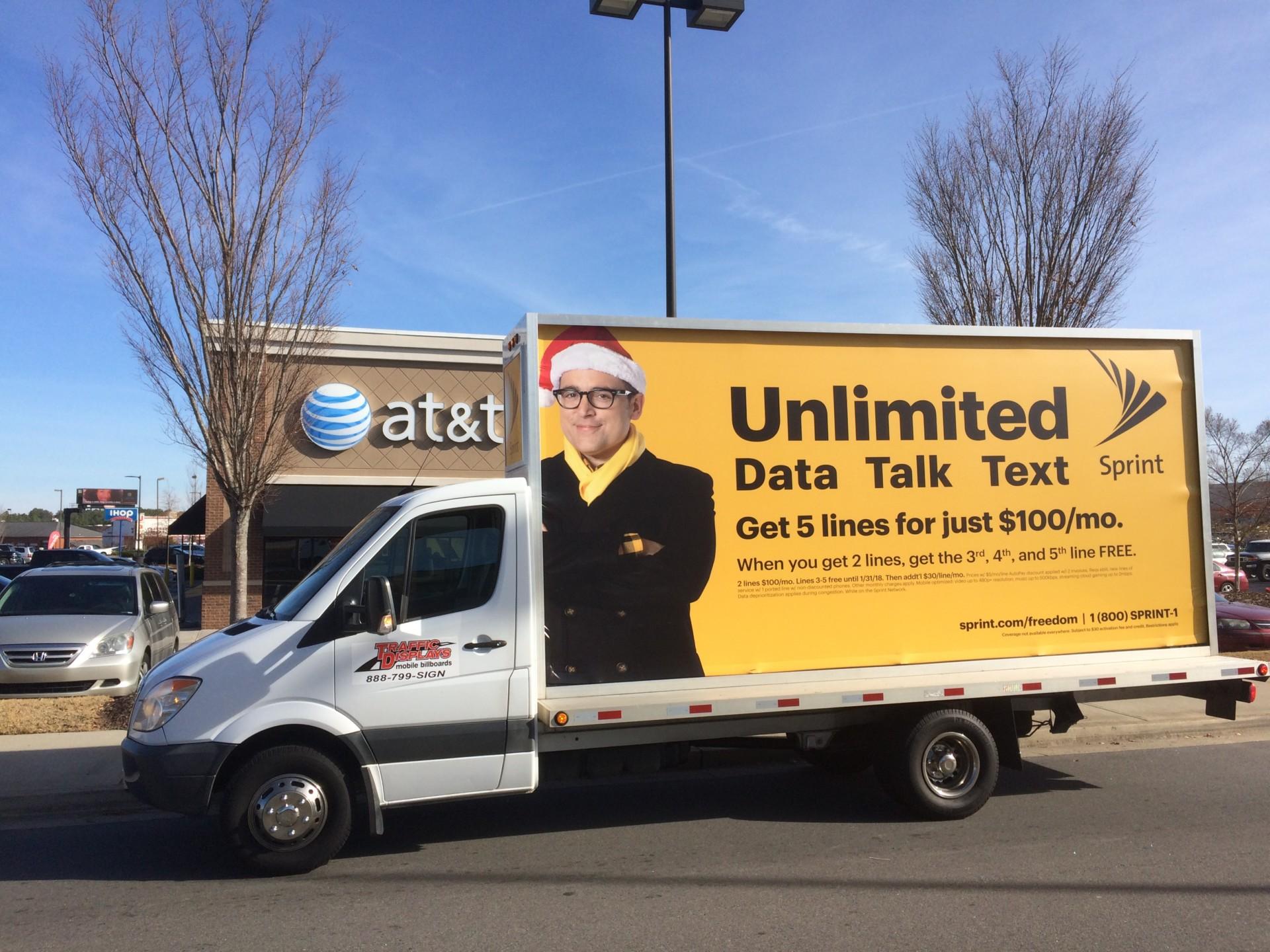 Atlanta GA Mobile Billboard