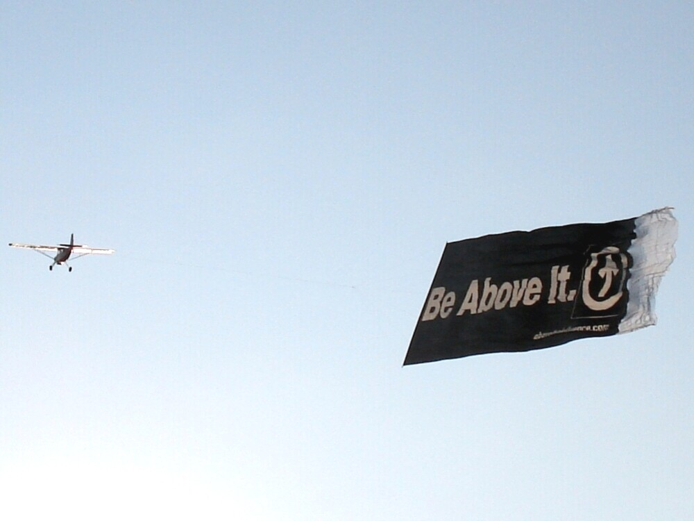 Detroit Aerial Billboard Advertising