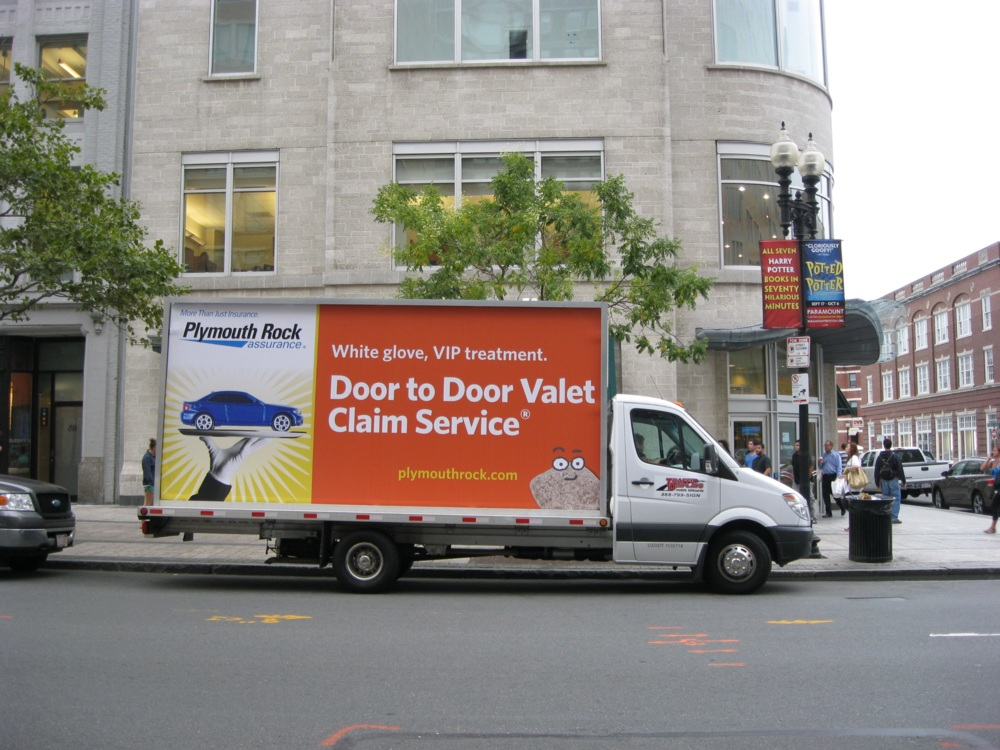 Boston Mobile Billboard