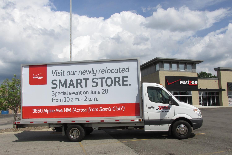 Grand Rapids Mobile Advertising Truck