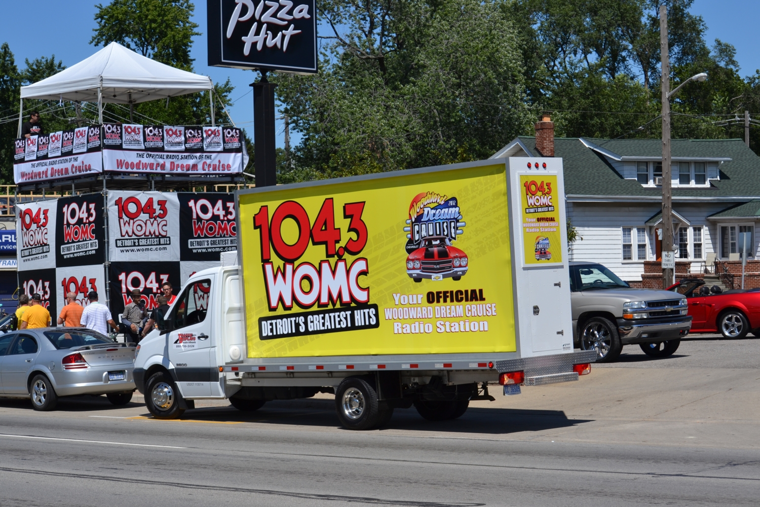 Mobile Billboard truck detroit