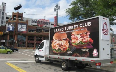 Detroit Mobile Billboard Advertising Parallels Cities Rise