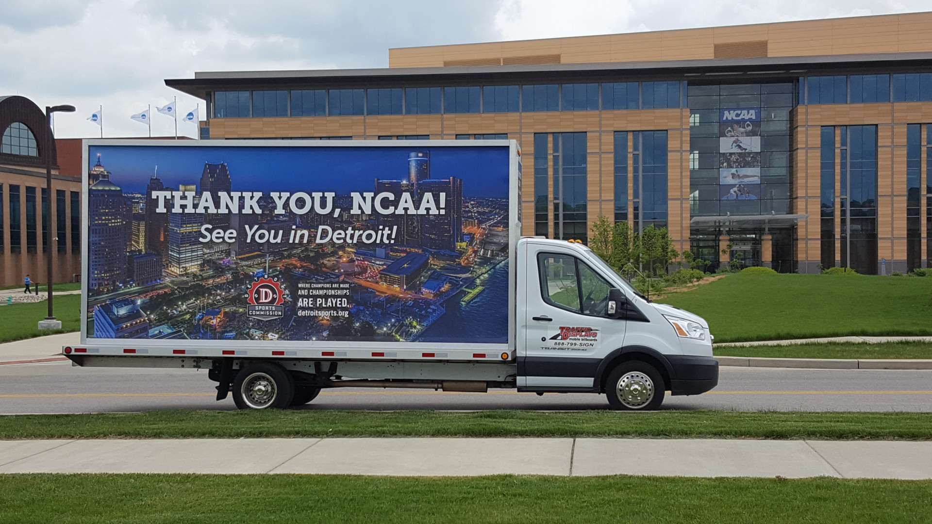 Mobile Billboard Advertising Truck Indianapolis