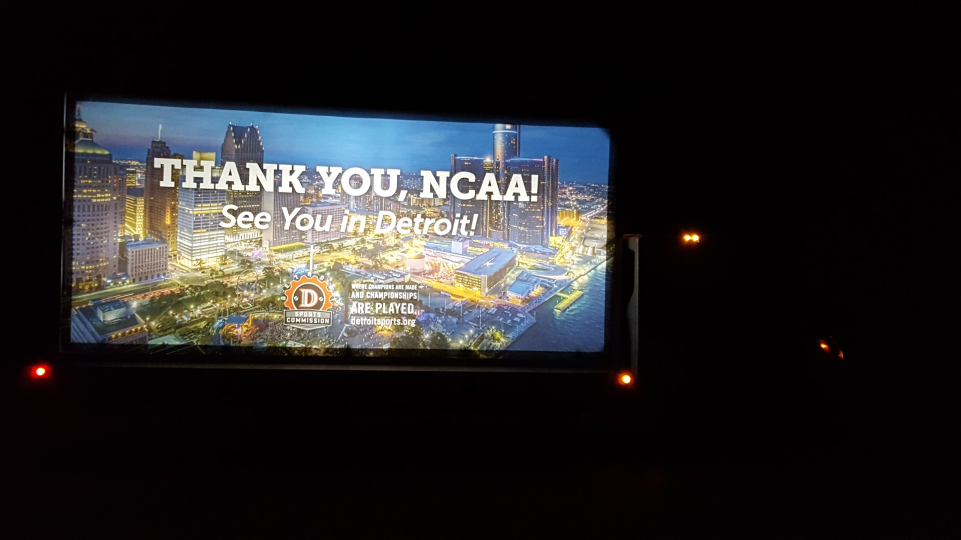Truck Billboard Lit