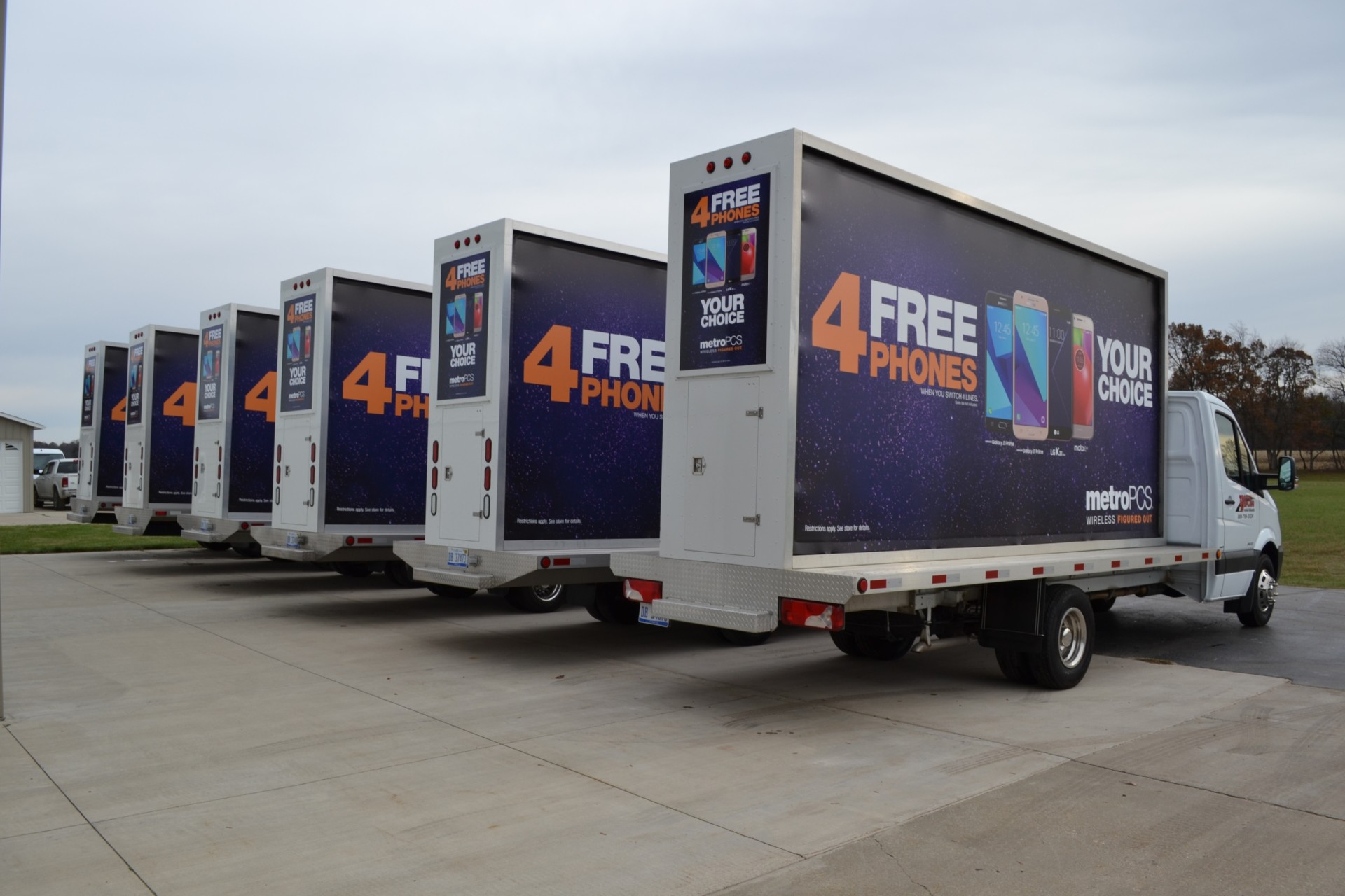 Mobile Billboard Trucks