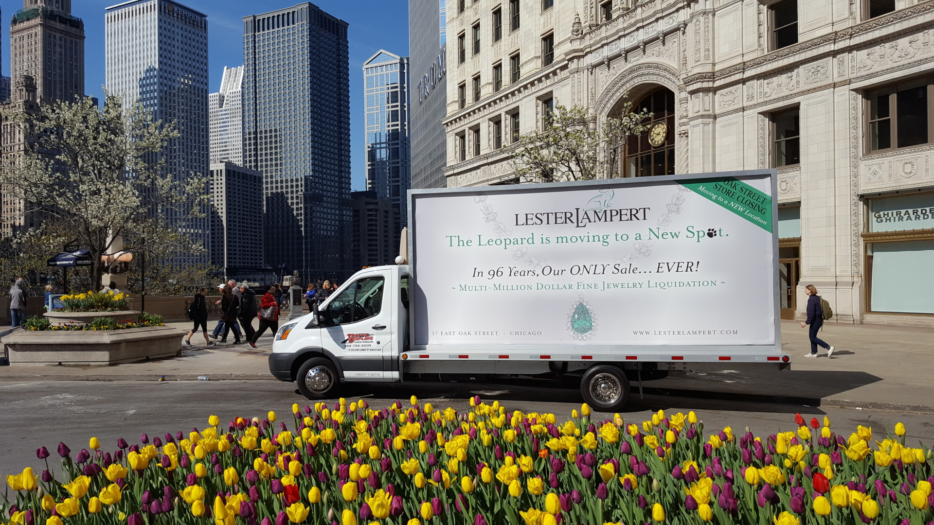 Chicago Mobile Billboard Trucks