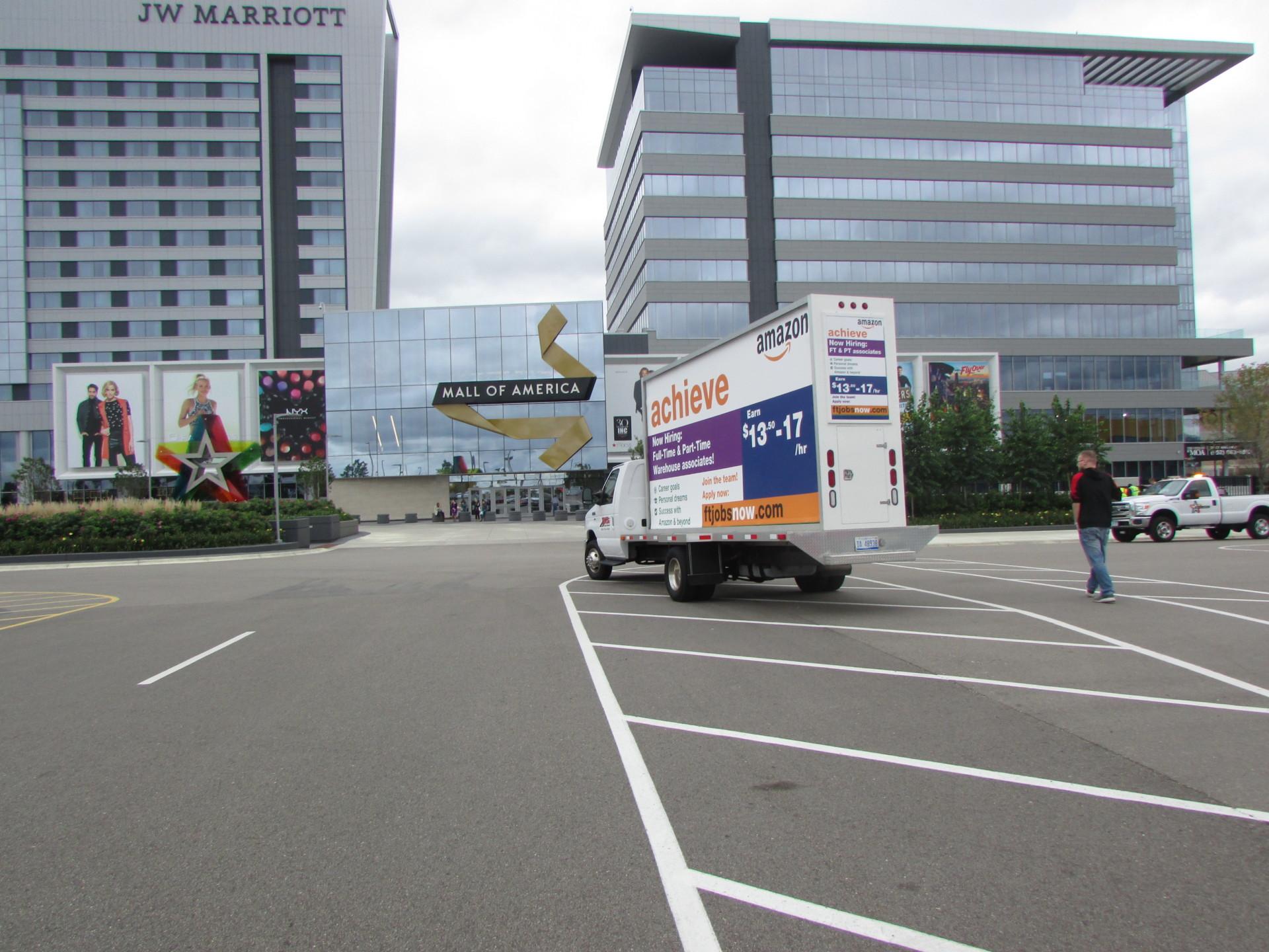 Minneapolis Mobile Billboard Trucks