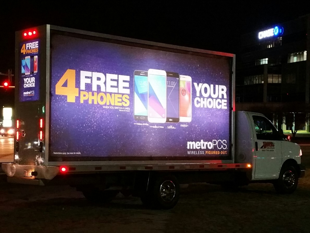 Cincinnati Mobile Billboard Truck