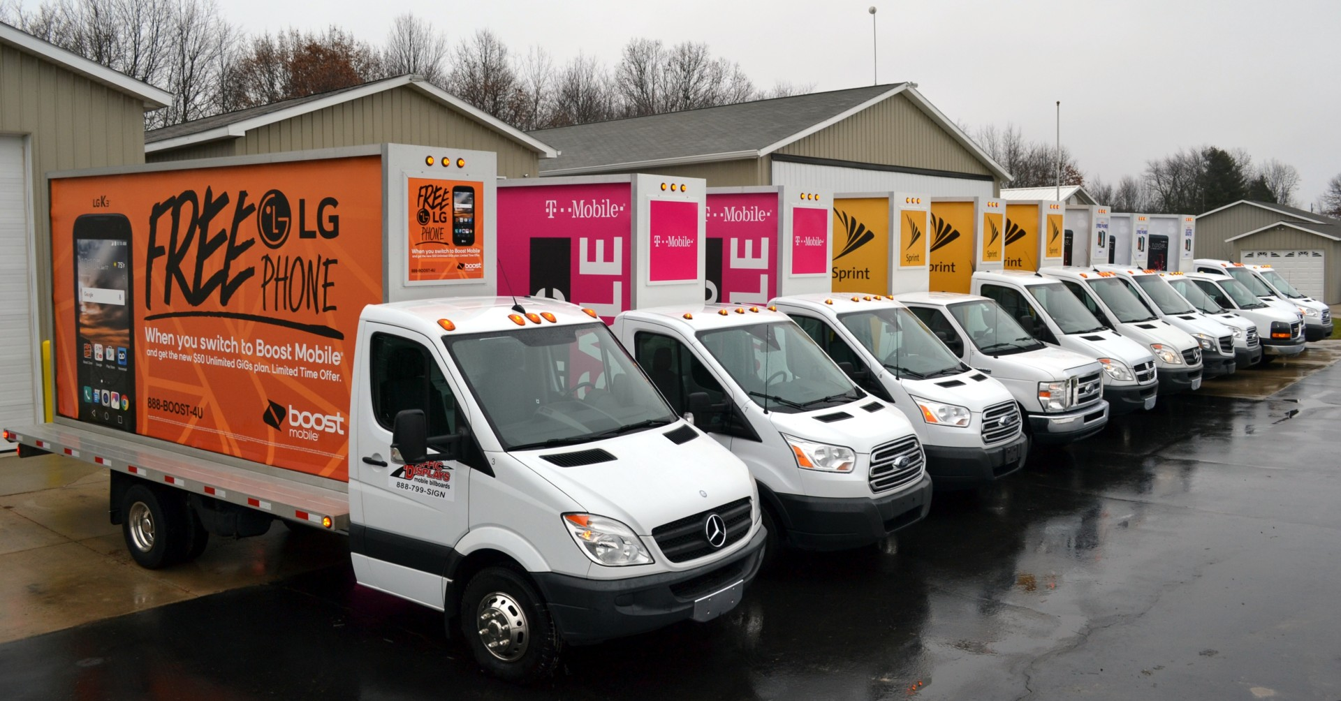 Mobile Billboard Fleet