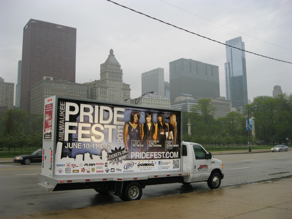 Milwaukee Mobile Billboard Trucks