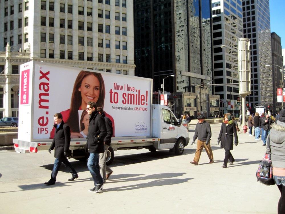 Pittsburgh Mobile Billboard Trucks